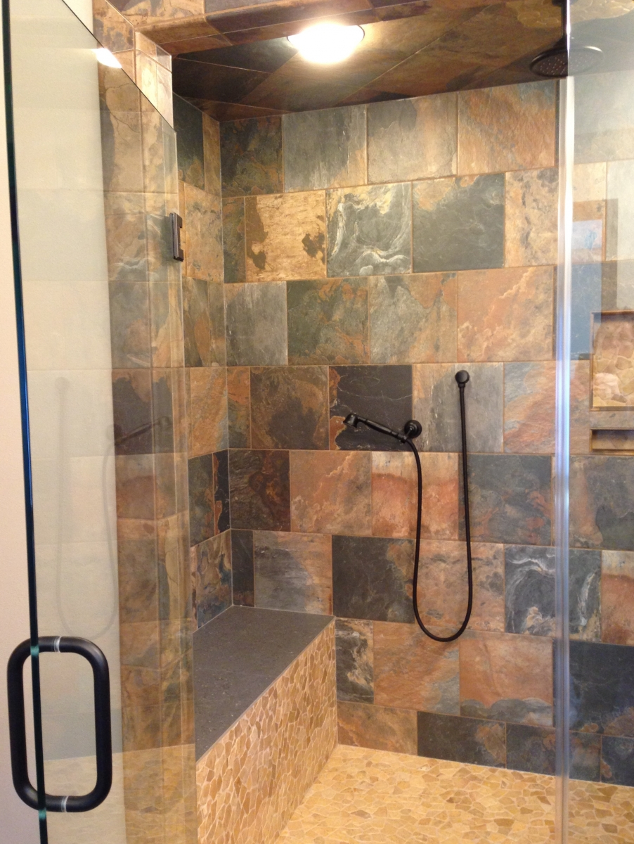 tile watch shelfs and showers for nooks youtube shower recessed niches