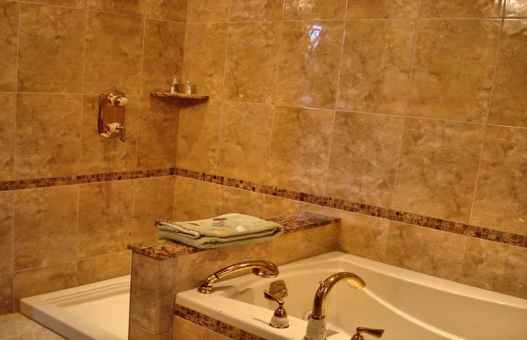 elegent bathroom tile