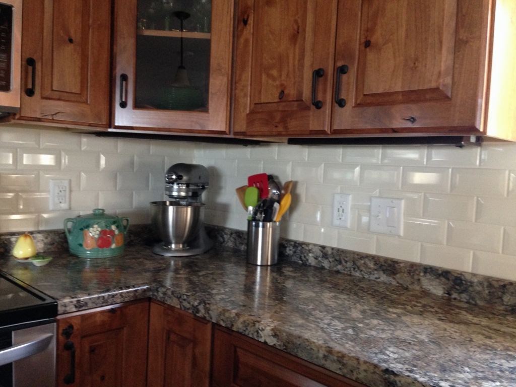 Custom Kitchen Backsplashes Northern Glass Tile Stone
